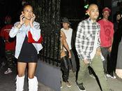 Chris Brown fête anniversaire avec Karrueche