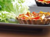 Tartelettes tomates tofu