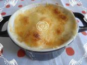Gratin pommes terre oeufs béchamel Cyril Lignac