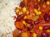 Chili carne (chili végétarien) ronde interblogs