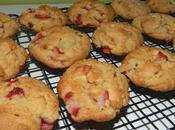 Biscuits fraises beurre cacahuetes