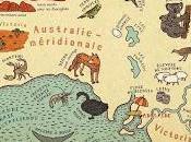 Cartes. Voyage parmi curiosités merveilles monde