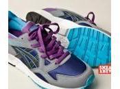 Asics Lyte Grey Purple Blue