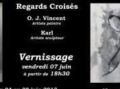 Exposition Regards Croisés O.J. Vincent- Karl Lefebvre l'Espace d'art contemporain carmes Pamiers