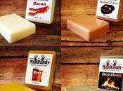 Bacon, bière, rouge savons parfums décalés