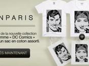 Warner s'associe Eleven Paris pour série T-Shirts Comics