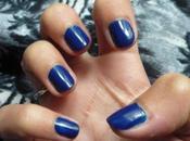 blue Dee) ongles bleus avec Sephora