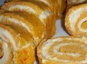 Roulé carottes fromage