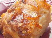Gâteau pommes poires caramel beurre salé