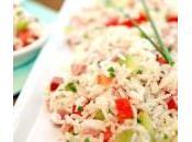 Salade Riz, Concombre, Tomates chrono