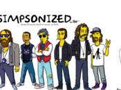 STROMAE Simpsonisé l'illustrateur Adrien Noterdaem