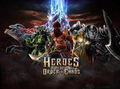 Heroes Order Chaos iPhone, découvrez nouvelle version...