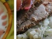 Purée rustique légumes l'ail grillé