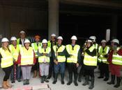 Terre Plurielle accompagne Centre Gabrielle visite chantier pour personnes handicapées