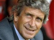 Manchester City Manuel Pellegrini soigne arrivée