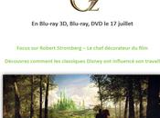 Monde Fantastique d'Oz Focus Robert Stromberg Chef Décorateur Film L'influence Classiques Disney Travail