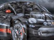 FIAT réalise voiture Body Paint