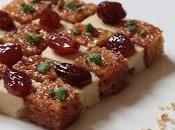 Damier foie gras pain d'épices confit sirop Floc Gascogne