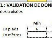 Excel: validation données alternatives