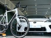 Lexus carbon fiber sport road bike