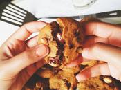 Cookies beurre noisette, éclats noisettes coeur nutella