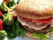 Burger végétalien avec sauce spéciale