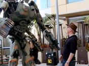 robot géant impressionnant Comic Diego