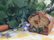 Cake farine pois chiche, tomates confites coeurs d'artichaut (sans gluten)