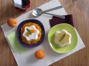 Panna cotta verveine lait d'amande compotée d'abricots