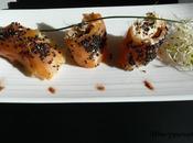 Cannellonis saumon fumé mousse poisson Smoked salmon canneloni fish