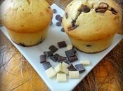 Muffins pépites chocolat chunks chocos