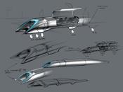 Hyperloop moyen transport subsonique d'Elon Musk