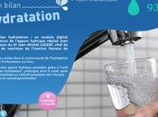 application vous informe votre état d'hydratation!