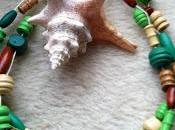 Collier perles bois Jinja