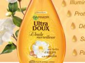 L'huile merveilleuse chez Ultra Doux-Garnier: j'adore