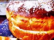 Brioche fourrée crème mousseline (Tropézienne)