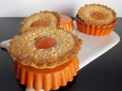 Tartelette express abricot, amande pignons
