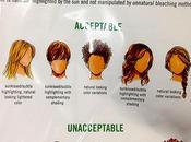 coupes cheveux interdites employés Abercrombie Fitch