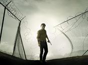 Walking Dead poster pour saison Adieu prison