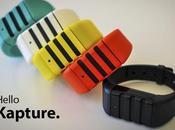 Kapture, bracelet malin fonctionne Apps iPhone...