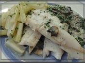 Filets merlans ciboulette
