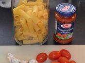 Rigatoni/Penne tomates cerises moules