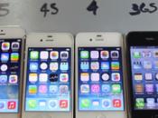 Test vitesse iPhones d'Apple