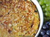 Clafoutis raisins amandes