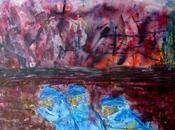 Fort expo guerre, c'est triste vision guerre 14-18, aquarelle