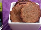 Biscuits apéritif farine chataigne (sans gluten)