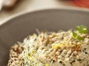 Salade légère quinoa, maquereaux artichauts Belle-Ilois germes d'alfafa