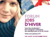 Forum jobs d'hivers, octobre 2013
