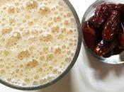 Aujourd'hui, j'ai testé –des dattes dans milkshake