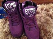 Ewing Purple Suede